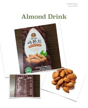 Almond Milk inKorea