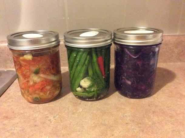 fermented veggies